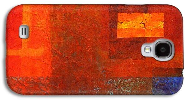 Boxed Galaxy S4 Case by Nancy Merkle