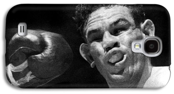 Boxer Catches A Left Hook Galaxy S4 Case by Underwood Archives