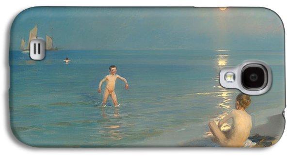 Boys Bathing At Skagen Galaxy S4 Case