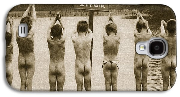 Boys Bathing In The Park Clapham Galaxy S4 Case