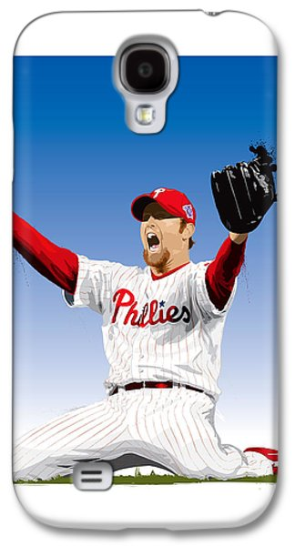 Brad Lidge Champion Galaxy S4 Case