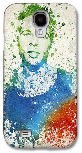 Brad Pitt Portrait Galaxy S4 Case