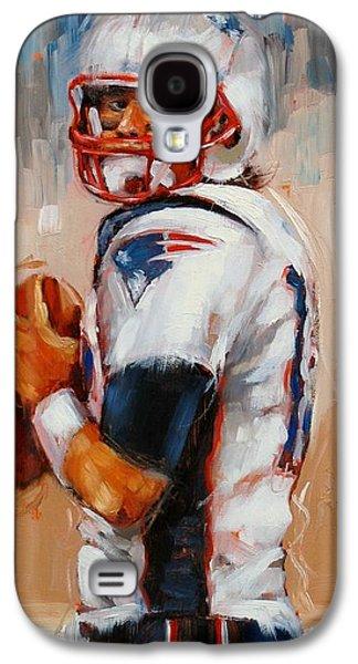 Brady Boy Galaxy S4 Case by Laura Lee Zanghetti