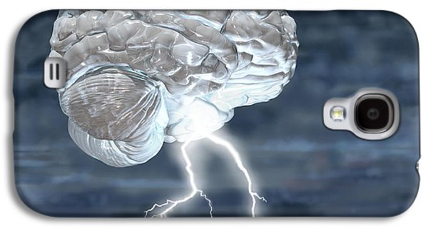 Brainstorm Galaxy S4 Case by Russell Kightley