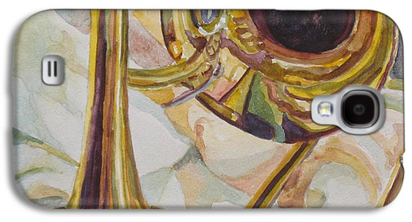 Trombone Galaxy S4 Case - Brass At Rest by Jenny Armitage
