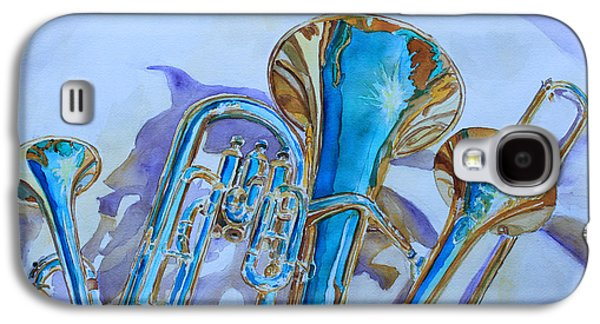Trombone Galaxy S4 Case - Brass Candy Trio by Jenny Armitage