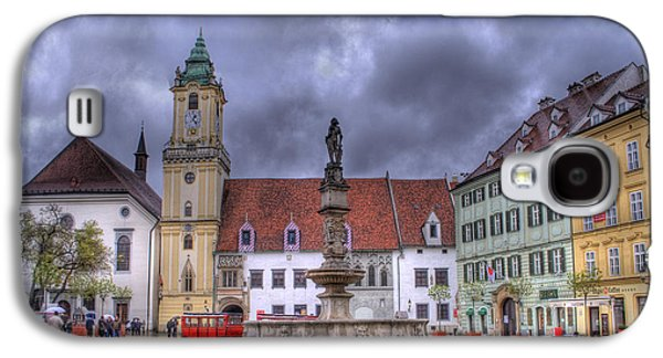 Bratislava Old Town Hall Galaxy S4 Case by Juli Scalzi
