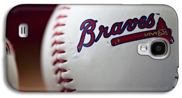 Braves Baseball Galaxy S4 Case