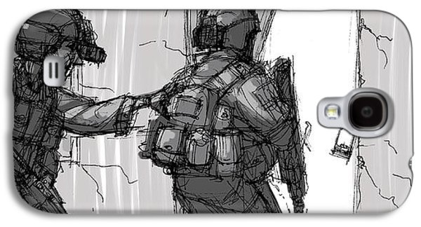 Breach And Clear Galaxy S4 Case by Anthony Mata