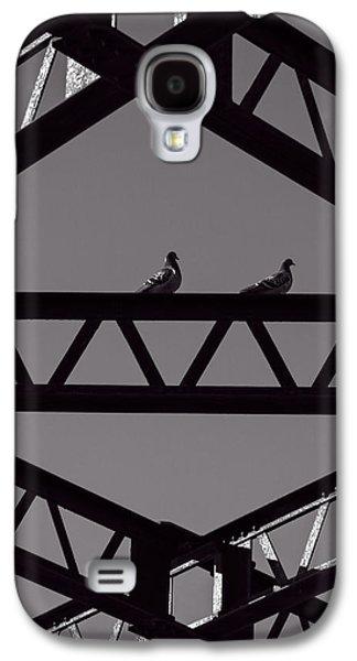 Pigeon Galaxy S4 Case - Bridge Abstract by Bob Orsillo