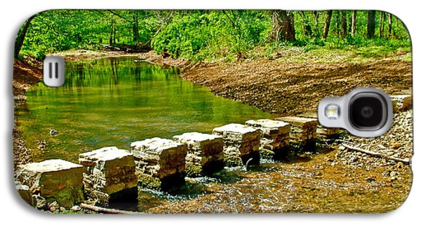 Bridge Across Colbert Creek At Mile 330 Of Natchez Trace Parkway-alabama Galaxy S4 Case by Ruth Hager