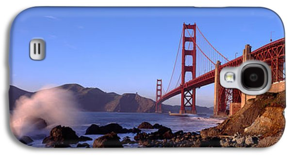 Bridge Across The Bay, San Francisco Galaxy S4 Case by Panoramic Images