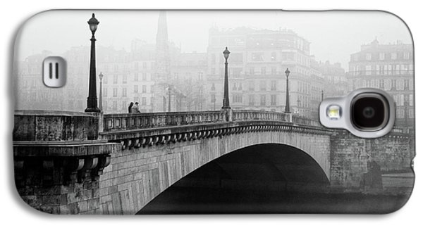 Old Town Galaxy S4 Case - Bridge In The Mist by Madras91