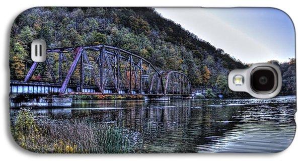 Bridge On A Lake Galaxy S4 Case by Jonny D