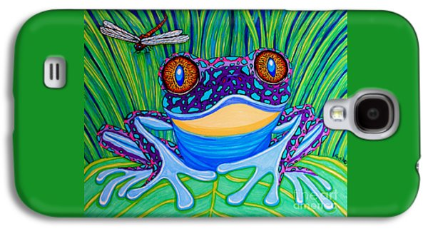 Bright Eyed Frog Galaxy S4 Case