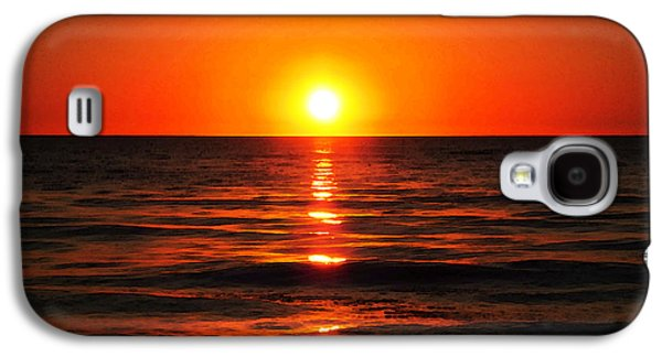 Bright Skies - Sunset Art By Sharon Cummings Galaxy S4 Case by Sharon Cummings