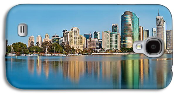 Travel Galaxy S4 Case - Brisbane City Reflections by Az Jackson