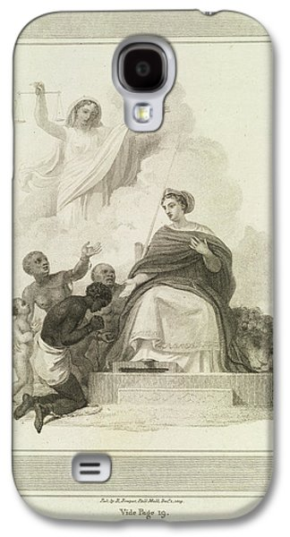 Britannia Galaxy S4 Case