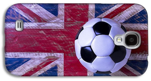British Flag And Soccer Ball Galaxy S4 Case