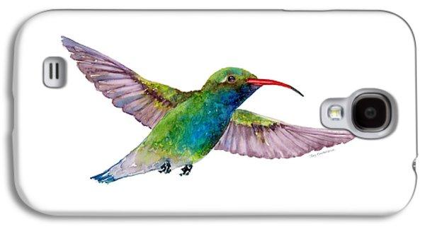 Broad Billed Hummingbird Galaxy S4 Case