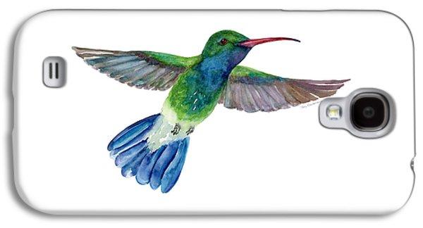 Broadbilled Fan Tail Hummingbird Galaxy S4 Case