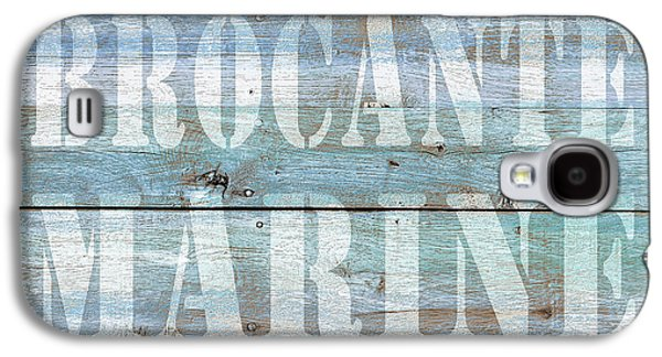 Brocante Marine Galaxy S4 Case by Cora Niele