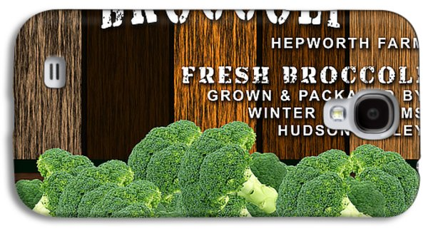 Broccoli Farm Galaxy S4 Case by Marvin Blaine