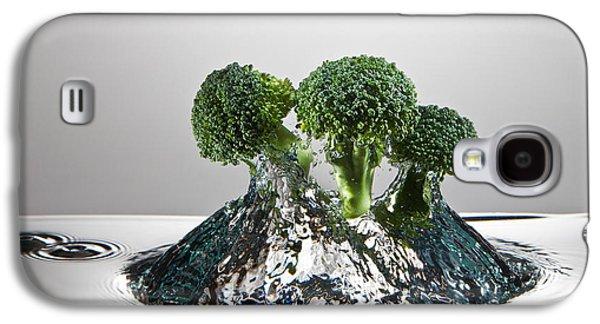 Broccoli Freshsplash Galaxy S4 Case by Steve Gadomski