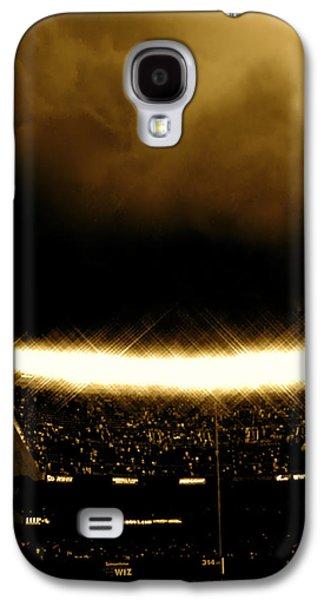 Bronx Storm Yankee Stadium  Galaxy S4 Case by Iconic Images Art Gallery David Pucciarelli