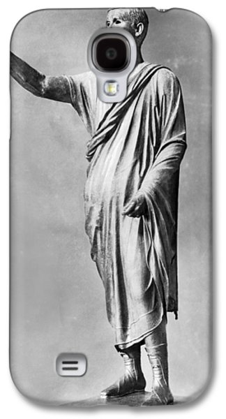 Bronze Statue Of the Orator Galaxy S4 Case