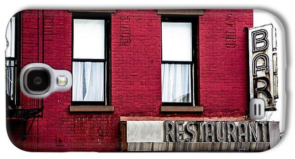Brooklyn Bar Galaxy S4 Case by Diane Diederich