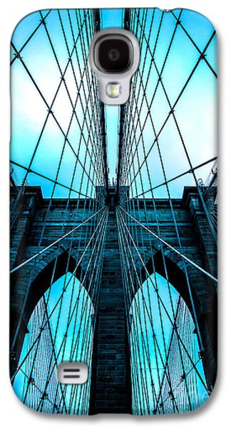 Brooklyn Blues Galaxy S4 Case by Az Jackson