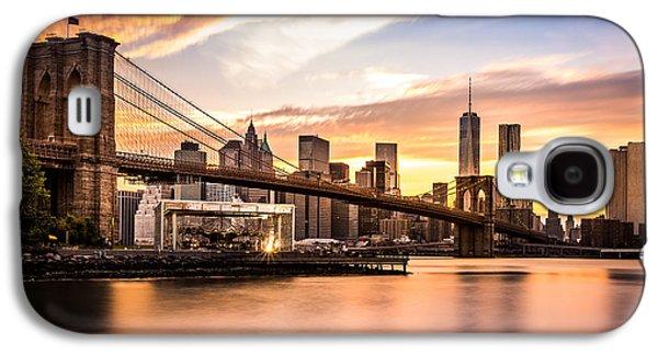 Brooklyn Bridge At Sunset  Galaxy S4 Case