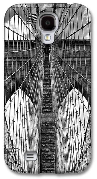Brooklyn Bridge New York City Galaxy S4 Case by Peter Dang