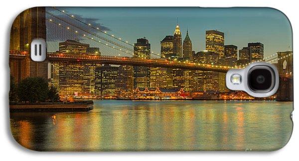 Brooklyn Bridge Twilight Galaxy S4 Case