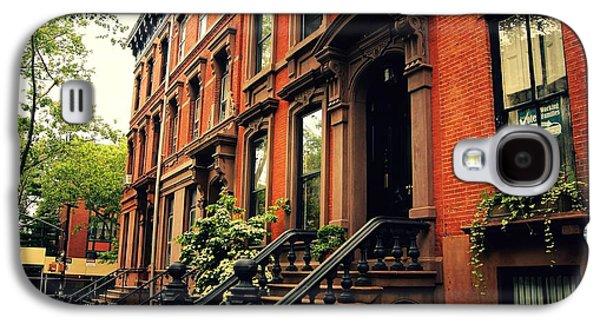 Brooklyn Brownstone - New York City Galaxy S4 Case by Vivienne Gucwa