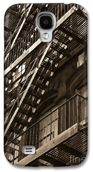 Brooklyn Fire Escapes Galaxy S4 Case by Diane Diederich