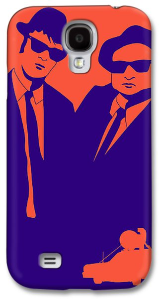 Brothers Poster Galaxy S4 Case by Naxart Studio