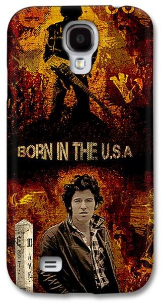 Bruce Springsteen Galaxy S4 Case by Dancin Artworks