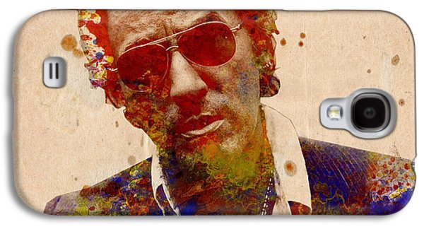 Bruce Springsteen Galaxy S4 Case by Bekim Art