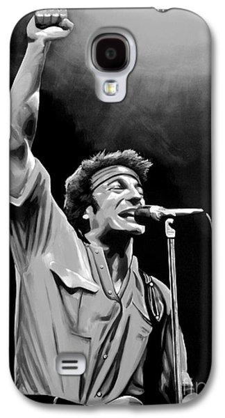 Bruce Springsteen Galaxy S4 Case by Meijering Manupix