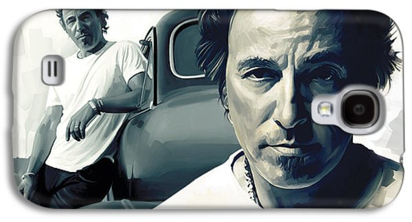 Bruce Springsteen The Boss Artwork 1 Galaxy S4 Case