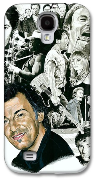 Bruce Springsteen Through The Years Galaxy S4 Case by Ken Branch