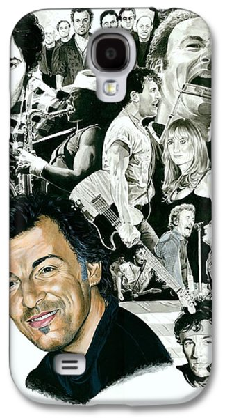 Bruce Springsteen Through The Years Galaxy S4 Case