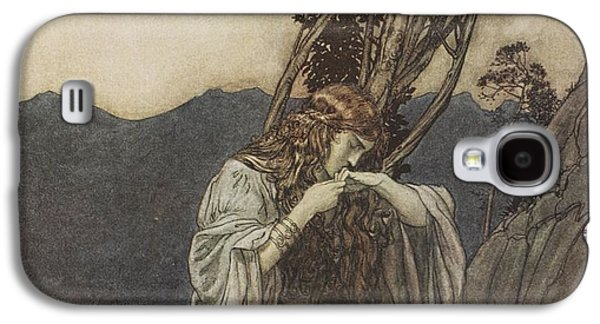 Brunnhilde Kisses The Ring That Siegfried Has Left With Her Galaxy S4 Case