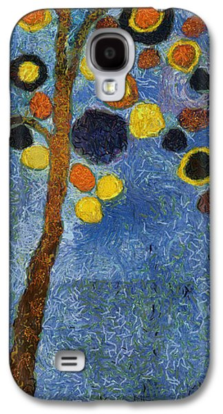 Bubble Tree - 8586v03r Galaxy S4 Case by Variance Collections