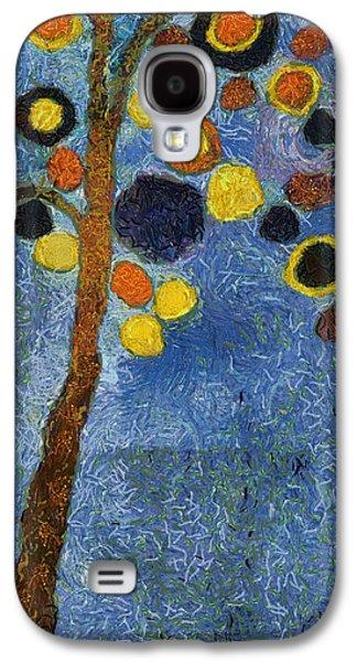 Bubble Tree - 8586v03r Galaxy S4 Case