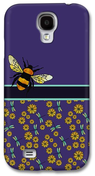 Bubblebee And Friends Galaxy S4 Case by Jenny Armitage