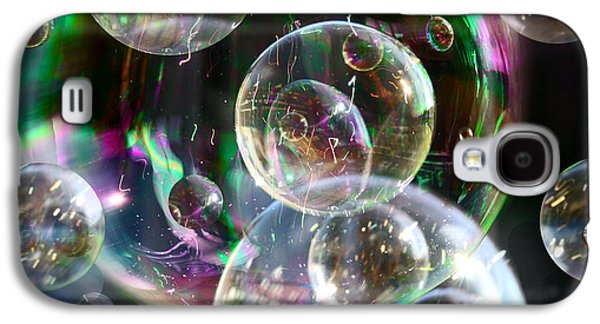 Galaxy S4 Case featuring the photograph Bubbles And More Bubbles by Nareeta Martin