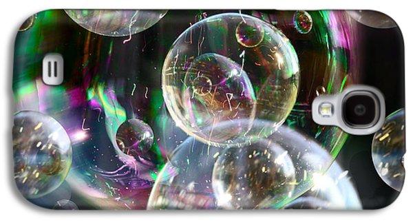 Bubbles And More Bubbles Galaxy S4 Case by Nareeta Martin